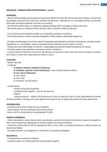 BRUCELOSE - Doenças Infectocontagiosas
