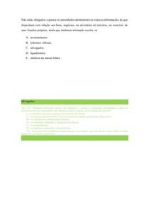10 QUESTÕES OAB SOBRE Ética e Estatuto da OAB
