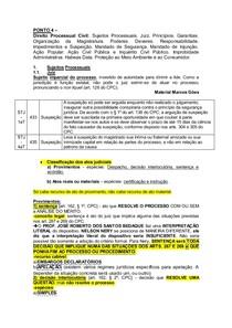 Ponto 4 - Processo Civil