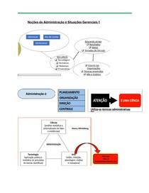 Noções de Administração e Situações Gerenciais 1