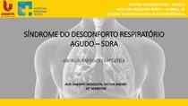 Síndrome do Desconforto Respiratório Agudo - SDRA