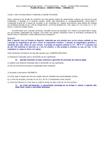 Postagem de aula 10 - Penal I