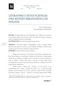 Roiphe - literatura e artes plásticas revisão
