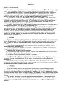 VIROLOGIA RESUMO P1