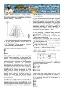 M2A20 - Equilíbrio de Hardy-Weinberg