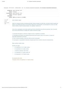AV1 - Psicologia e Comportamento Organizacional