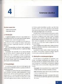 Capítulo 4 - Estenose Cáustica