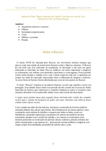 Análise do filme Maria Antonieta