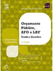 Orçamento Público, AFO e LRF   Paludo