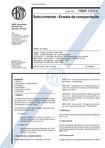 NBR 12023   1992   Solo Cimento   Ensaio de Compactação
