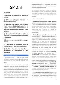 MÓDULO TUTORIA - ZIGOTO AO PERÍODO EMBRIONÁRIO