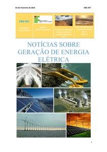 2º Boletim de Geração de Energia