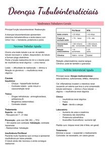 Nefrologia - Doenças Tubulointersticiais