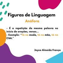 Figuras de Linguagem -Anáfora