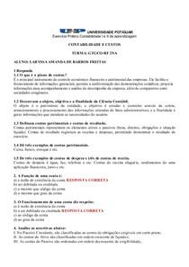 EXERCICIO CONTAILIDADE II