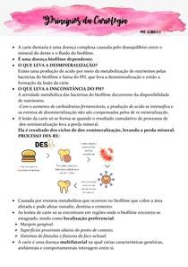 Princípios da Cariologia