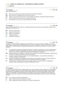 AV1 FUNDAMENTOS DE COMÉRCIO EXTERIOR