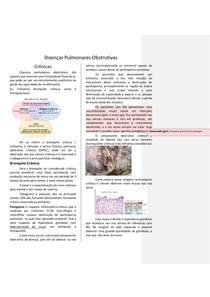 Anotação Doenças pumonares obstrutivas