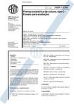 NBR 13086   1994   Prensa Excêntrica de Coluna Tipo C   Ensaio para Aceitação