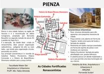 Pienza - Cidades Fortificadas Renascentistas