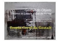 TEORIA GERAL & LEIS DA GESTALT 2009