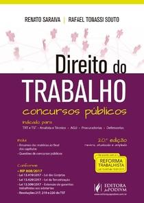 Direito do Trabalho   Renato Saraiva e Rafael Tonassi Souto   2018