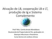 Imunologia_linfócitos B Ig e complemento