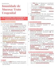 Imunidade de mucosa no trato urogenital
