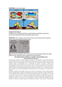 INTERPRETAÇÃO E PRODUÇAO DE TEXTO CONTEUDO AVALIAÇAO