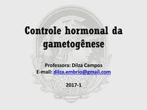 Controle hormonal da gametogênese (1)