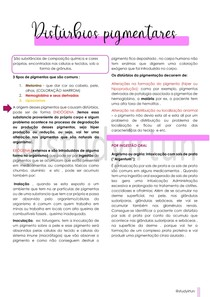 Disturbios pigmentares STUDYIRTUN