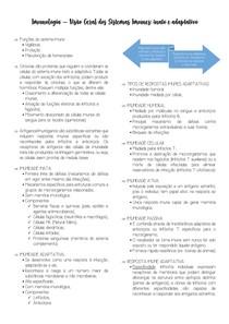 Visão Geral dos Sistemas Imunes - Inato e adaptativo