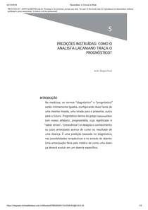 A Prática da Psicanálise
