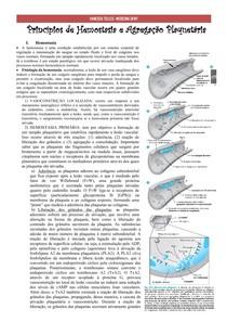 Hemostasia e agregação plaquetária