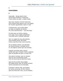 Odes modernas - Antero de Quental