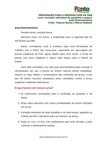 aula 01 OAB 2 Fase direito administrativo