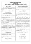 Aula 9 - Séries de Taylor, Maclaurin e Fourier - Teoria
