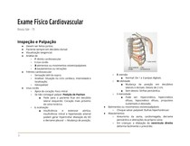Exame Físico Cardiovascular