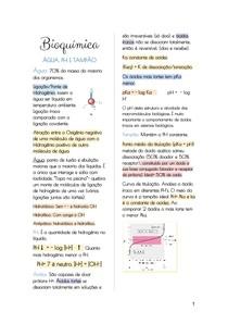 Resumos de bioquímica parte 1