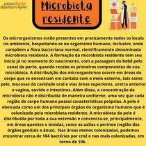 Microbiota Residente - resumo