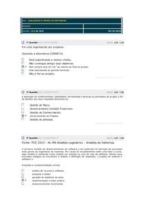 QUALIDADE E TESTES DE SOFTWARE - AVS V3