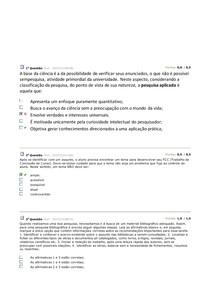 AV1-AV2-METOD. DA PESQUISA