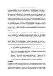 Exame especular e Citologia Oncótica