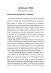 """Resumo """"Estrutura Social e Anomia"""" – Robert Merton"""