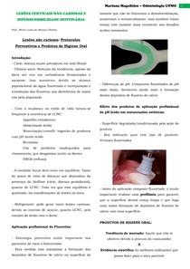Protocolos Preventivos e Produtos de Higiene Oral