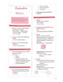 Propriedades químicas - Introdução à química