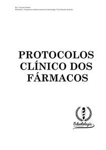 protocolo clinico dos farmacos (PERIODONTIA)- eduardo dias