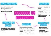Mapa Mental Princípios Exodontia