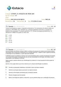AV - Pesquisa de Mercado - P - 201403