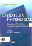 Livro Estratégia empresarial   Agricola Bethlem